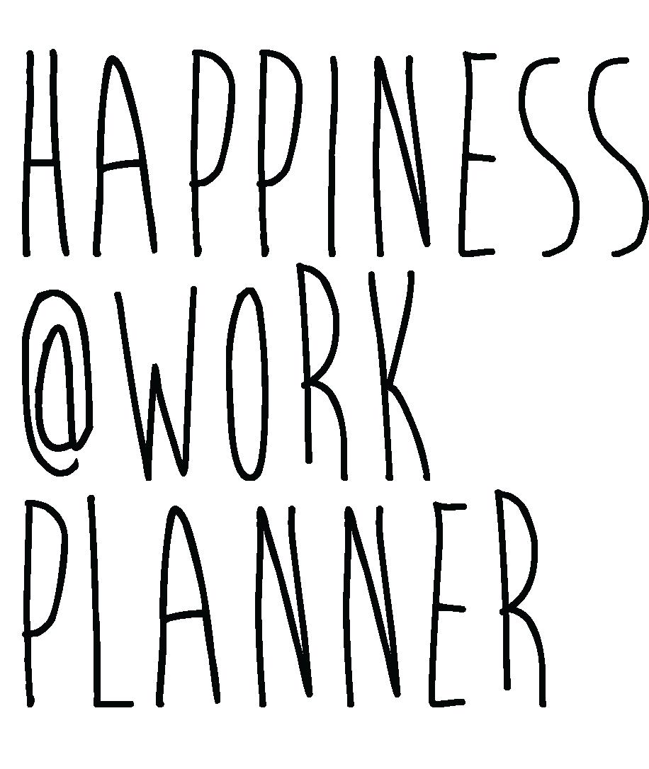 Happinessatworkplanner